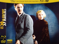 Les 39 marches Blu-ray et DVD
